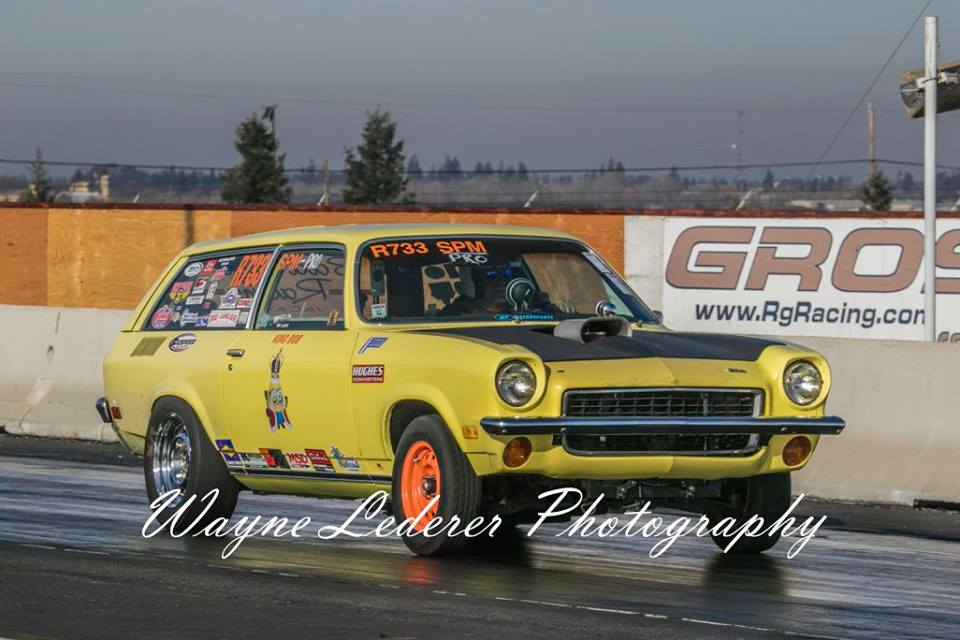 The 2015 Fat Boys Racing Team at Sacramento Raceway. A